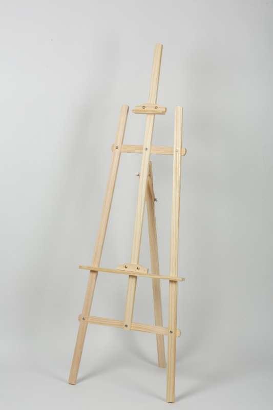 Мольберт деревянный Лира 175 см, регулируемый